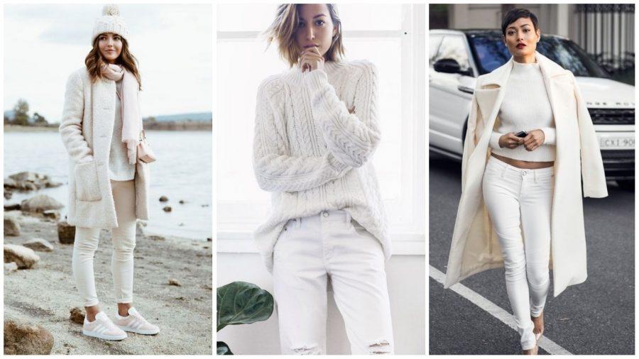 kako nositi belu boju