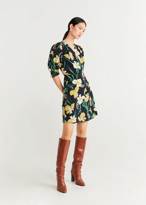 cvetna haljina za jesen