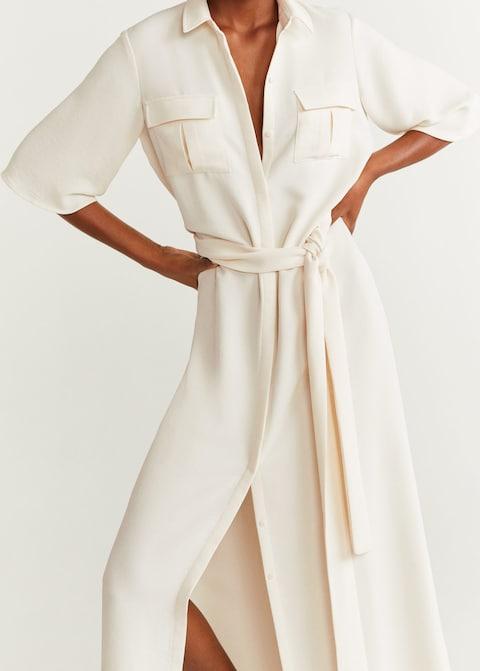 kosulja haljina bela